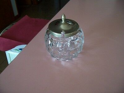 Fostoria American honey pot