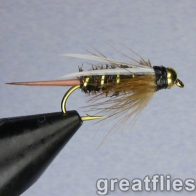 1 dozen (12) - Prince Nymph - Bead Head