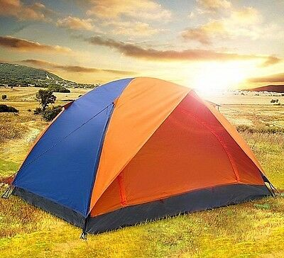 Camping Tent Portable Outdoor Shelter Rain Wind Snow Waterproof Fishing 2-Person
