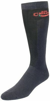 NEW Hot Chillys Men's Winter Sports Xtra Lo Volume Compression Socks Size L