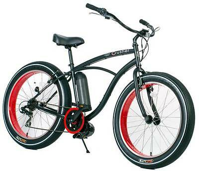Electric Fat Bike - Brand New Cruiser eBike/ 7spd/ - Shipping Available