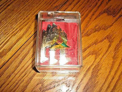 Star Trek Two Tone lapel pin Officially Authorized by the Klingon Empire 1993