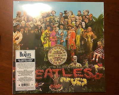 New Sealed Beatles Sgt. Peppers Lonely Hearts Club Band Vinyl Album Mono