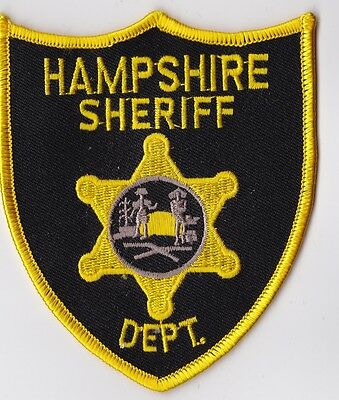 Hampshire Sheriff Dept. Police Patch West Virginia WV NEW