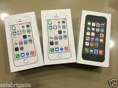 APPLE IPHONE 5s 16GB FACTORY GSM WORLDWIDE UNLOCKED GOLD SILVER GRAY LTE NEW
