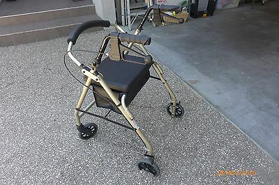 Walking Aids Mobility Frame Rollator