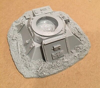 Forge World Imperial Guard Space Marines Gun Emplacement