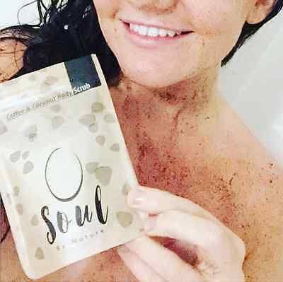 6 month supply of Coffee Body Scrub | Frank's for looking.