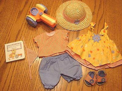 American Girl Bitty Baby Country Day Set with Tractor, 2004, Complete!