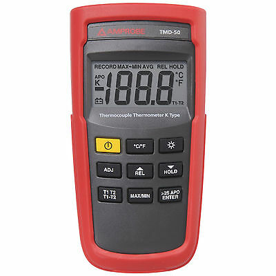 Amprobe TMD-50 K Type Thermocouple Thermometer / FREE EXPEDITED SHIPPING!!!