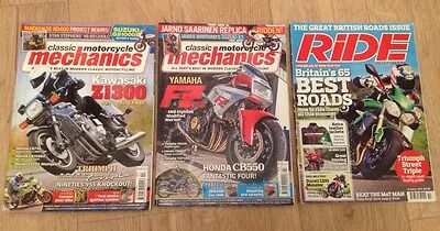 classic Motorcycle Mechanics and Ride Magazine