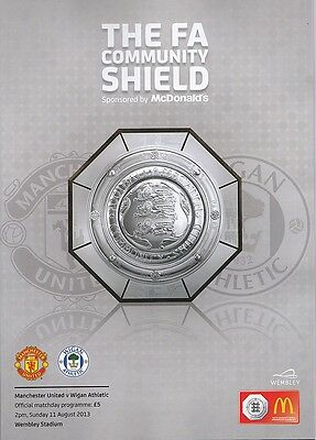 MANCHESTER UNITED v WIGAN ATHLETIC COMMUNITY SHIELD FINAL 2013