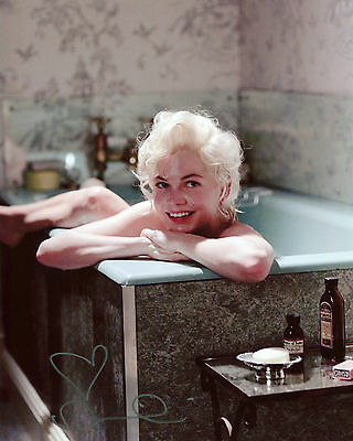Michelle Williams - Marilyn Monroe - My Week with Marilyn - Autograph REPRINT