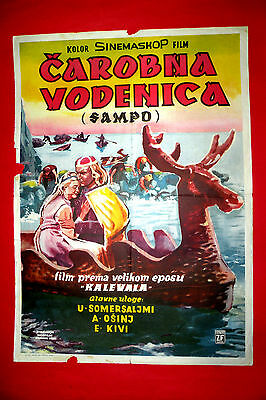 Sampo 1959 The Day The Earth Froze Russian Fantasy Ptushko Exyu Movie Poster