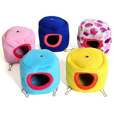Small Pet Cat Cage Hammock Hamster Rat Parrot Ferret Squirrel Hanging Bed House