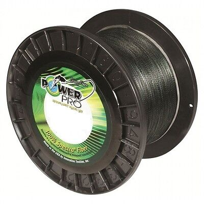 Power Pro Braid 1370m Bulk Spools 13kg-95kg Moss Green