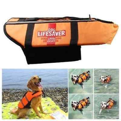 Namsan Pet Saver Life Jacket Night Reflective Dog Preserver Jacket - Large