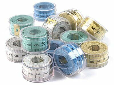 Measuring tape 150 cm Dose Tailor's measure Roller Colour choice