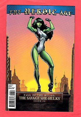 Fall Of The Hulks: Savage She-Hulks #3 Campbell 1:15 Variant