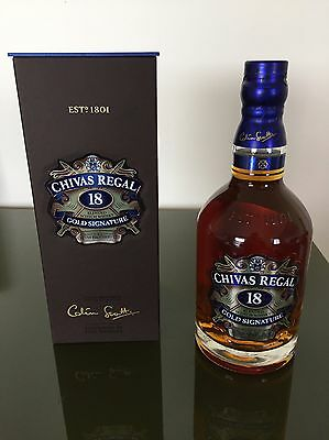 Scotch Whisky Chivas Regal 18 ans 40° 70cl Gold Signature - Neuf