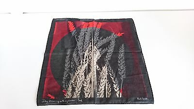 Paul Smith Pocket Square - 'Day Dreaming with My Camera'- Wheat /BNWT