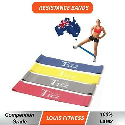 OZ Gym Home Exercise Yoga RESISTANCE BAND Sport LOOP Fitness Strength Training