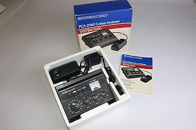 Paterson PCA 2060 Colour Analyser Vintage System 2000 in original packaging