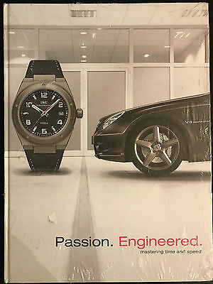 """IWC AMG Buch """"Passion. Engineered. mastering time and speed"""" TOP! NEU! NEW!"""