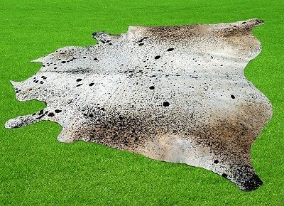 """New Cowhide Rugs Area Cow Skin Leather 40.64 sq.feet (77""""x76"""") Cow hide MB-9407"""