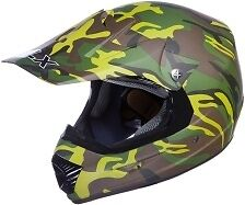 GLX  XP-4A  NEW   Full  Face   Adult Camouflage   Off   Road   Motocross  Helmet