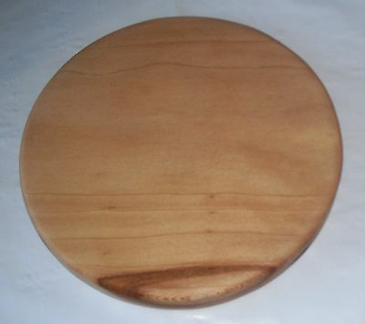 Handmade Sycamore Wood Solid Round Cutting Board