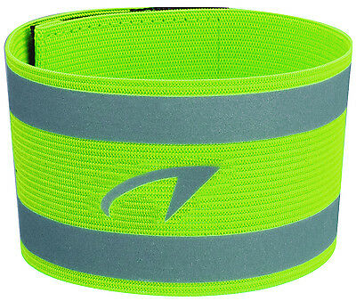 Reflective arm band for running, cycling, walking, outdoor sports