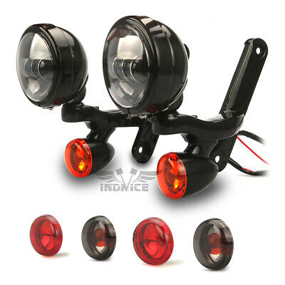 motorcycle spotlight harley electra glide passing light roadking turn signal li