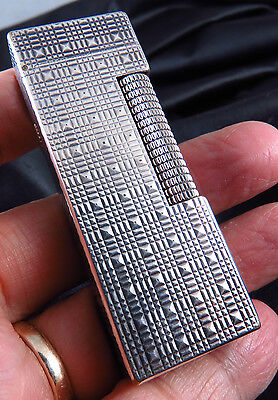 Genuine  Swiss  Made Dunhill Special Pattern Gas Lighter Free Shipping
