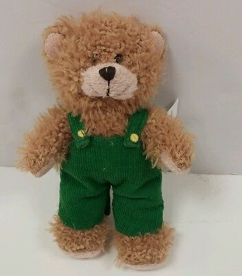 "CORDUROY Teddy Bear 7"" Plush Stuffed Animal Green Overall by Penguin Group 2008"