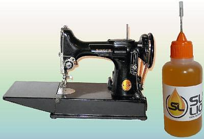 Synthetic Oil For Standard or Any Sewing Machine Slick Liquid Lube Bearings BEST