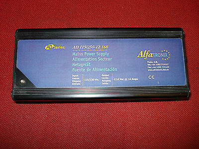 NEW Alfatronix AD 115/250-12 168  13,6 DC V  14 A Power Supply for  transceivers