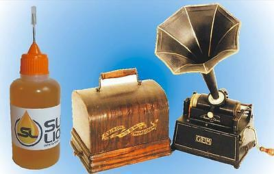BEST synthetic oil for Edison phonographs, READ THIS! Slick Liquid Lube Bearings