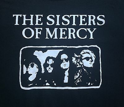 Sisters of Mercy Alice More Shirt SZ S/M/L/XL/2X Temple Watch Lucretia