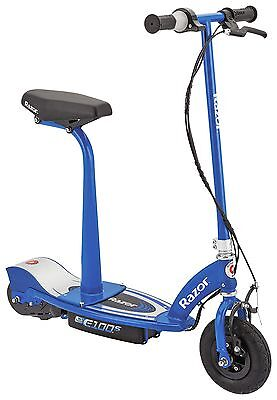Razor E100S Electric Scooter With Seat - Blue -From the Argos Shop on ebay
