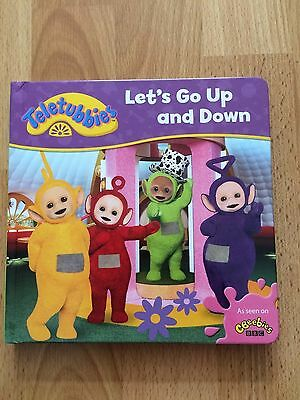Teletubbies Lets Go Up and Down board book BRAND NEW