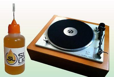 SUPERIOR Synthetic Oil For Vintage Record Players Slick Liquid Lube Bearings