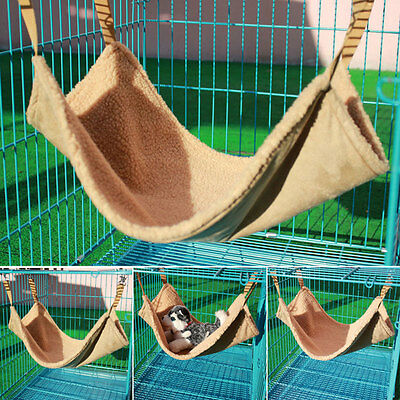 Pet Hammock Rat Rabbit Chinchilla/Cat Puppy Polyester Camel Bed Cover Quality