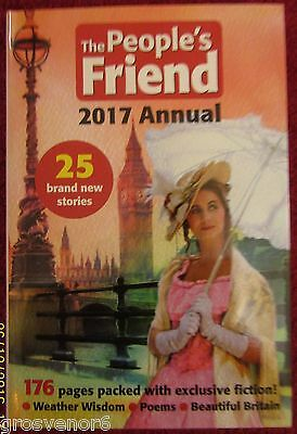 The People's Friend Annual 2017 - Hardback Book - Post Free UK
