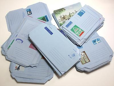270 Approx x GB Stationery Air Letters.  Duplicated. Mint
