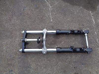 1999 Suzuki Gsxr Srad 600C - Front Suspension Forks With Yokes - Complete
