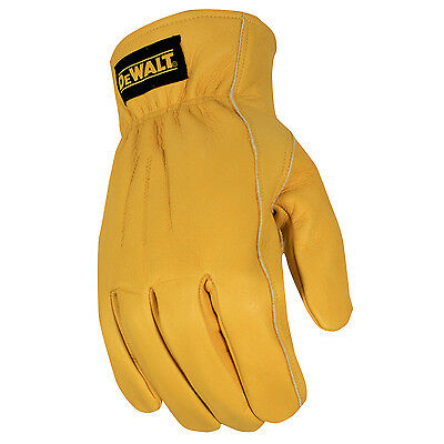 DeWalt Premium Thermal Lined Leather Glove - Medium (Pair)