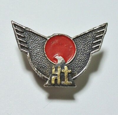 Rare!! WW2 Japanese Fascist Organization Member's Badge Pins Right-wing Medal