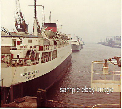 M.V. Ulster Queen at Belfast 1971