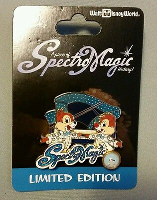 Disney Chip Dale SpectroMagic Parade Pin Limited edition 2500